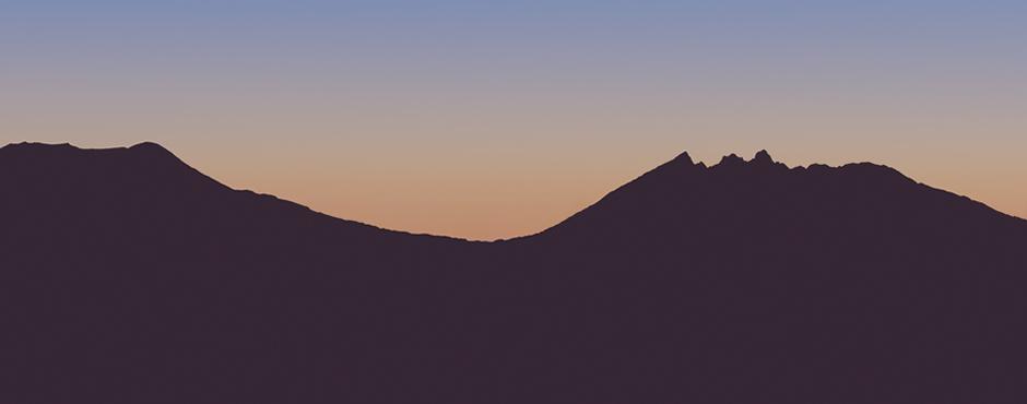 阿蘇五岳の1つ根子岳の麓